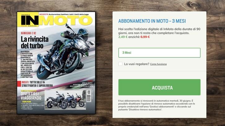OFFERTA In Moto: la passione a casa con un Click!