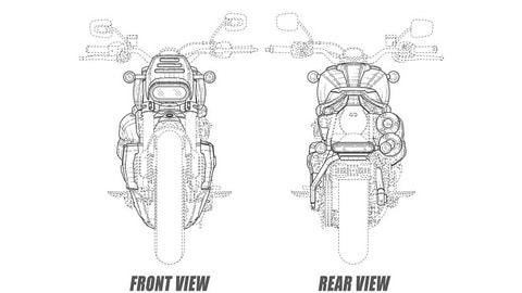 Harley-Davidson, flat tracker e café racer in arrivo FOTO