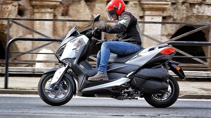 Prova, Yamaha XMax 300 'Roma Edition': l'ottavo Re