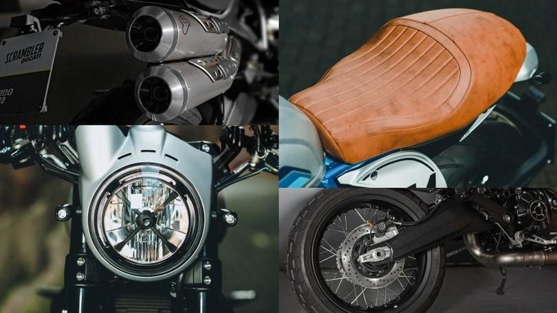 Scrambler Ducati, gli accessori per il proprio stile