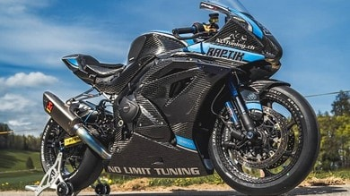 Suzuki GSX-R 1000, in Svizzera la fanno tutta in carbonio
