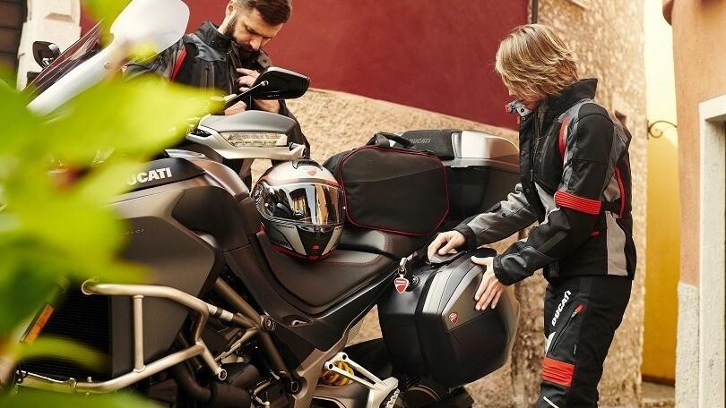 Ducati ti mette in viaggio con gli accessori dedicati al touring