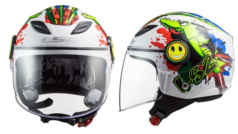 Da LS2 il casco Funny per i piccoli rider