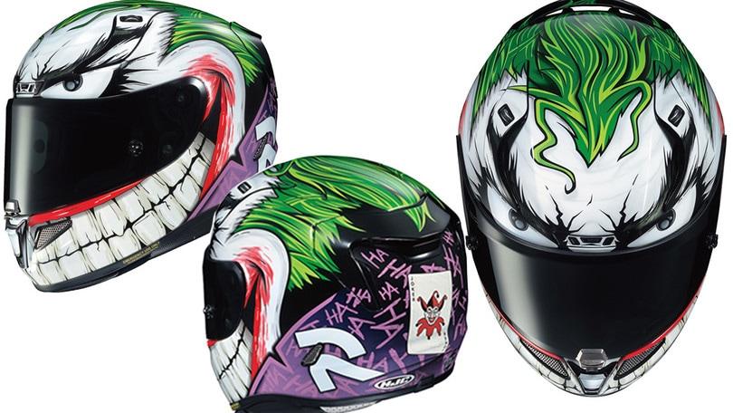 HJC: ecco il casco del Joker
