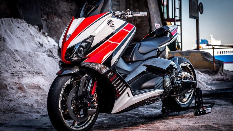 Lobomax, il T-Max pronto per la Superbike