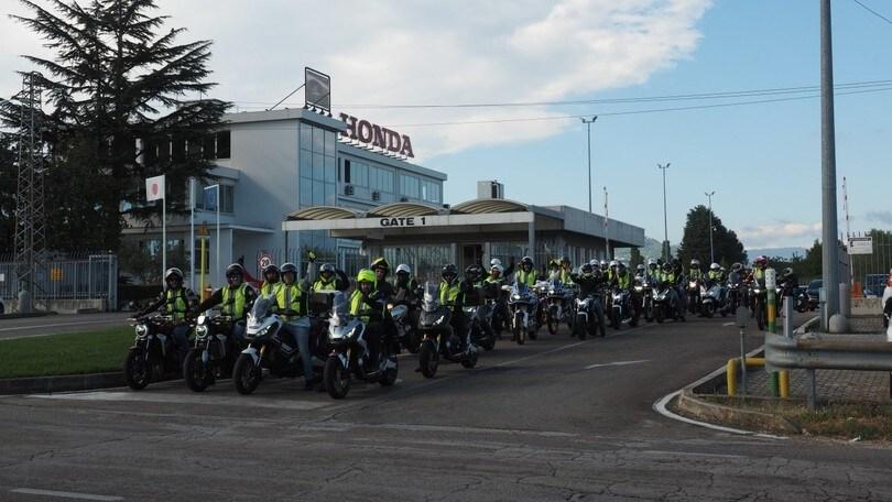 In Honda con Motoskills