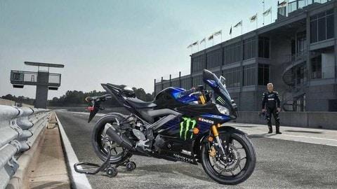 Yamaha R3 Monster Energy MotoGP Edition 2021: FOTO