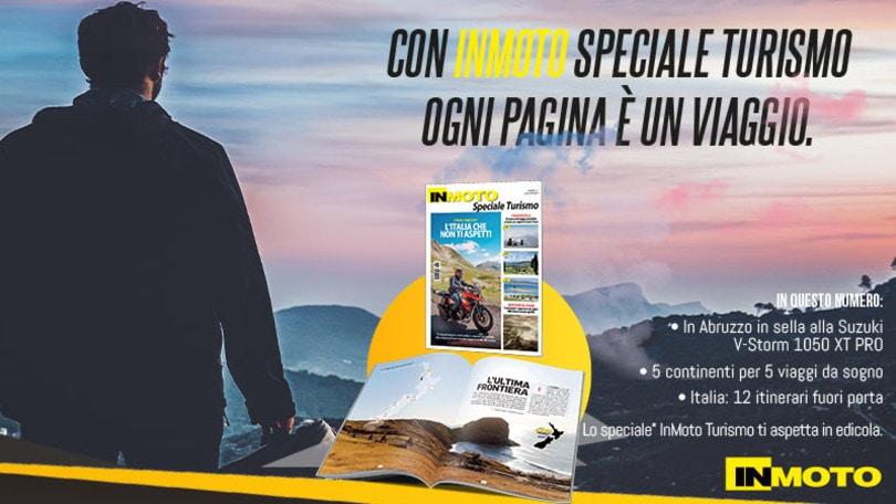 """InMoto, in edicola """"Speciale Turismo"""": profumi di casa nostra"""