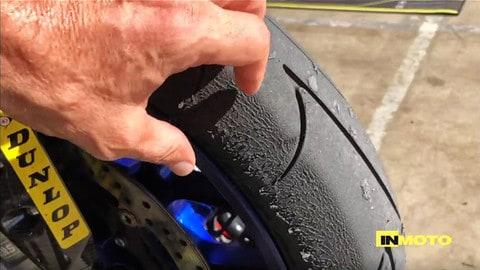 Video: Dunlop D213 GP Pro e GP Racer D212 a Misano