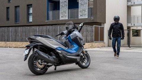 Honda Forza 125, model year 2021 FOTO