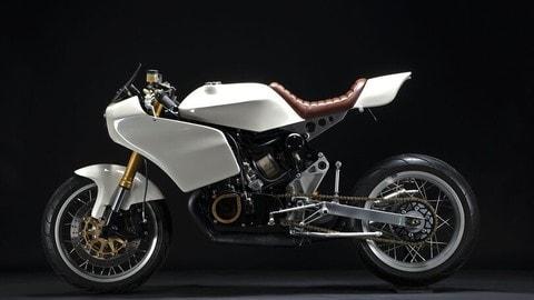 Suzuki GT380 custom by The MotoWorks: FOTO