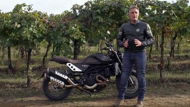 Video-Prova Moto Morini Super Scrambler: the analogic game!