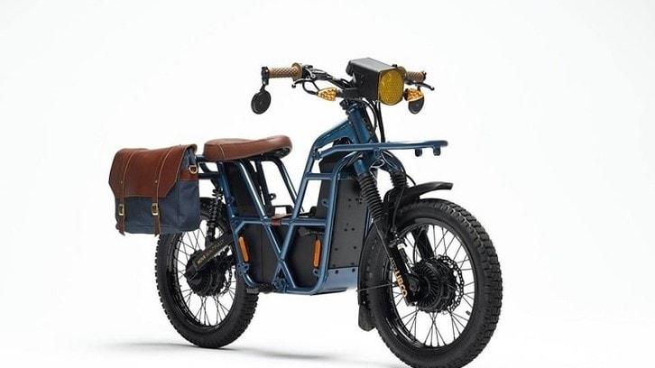 Ubco 2x2: ciclomotore elettrico a due ruote motrici e 120 km d'autonomia