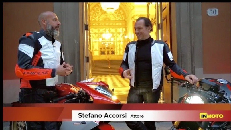 Tra Bologna e Firenze con Stefano Accorsi e le MV Agusta VIDEO