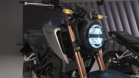 Video Honda CB125R 2021: walking around