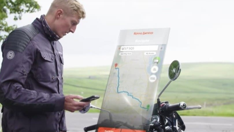 Royal Enfield, ecco il Tripper Navigation