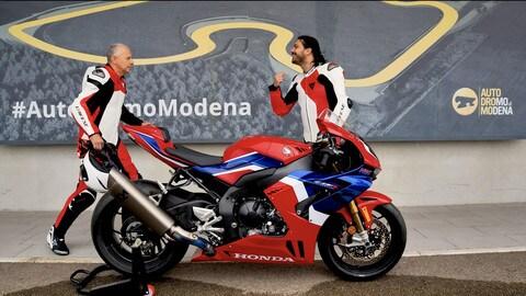 Motosprint The Test di Riccardo Piergentili: Honda CBR1000RR-R Fireblade SP