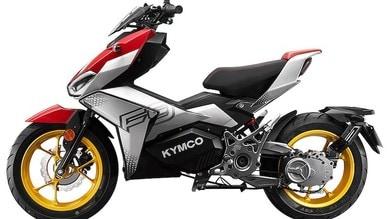 Kymco F9: lo scooter elettrico si fa eccitante