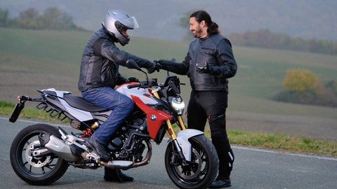 Motosprint The Test di Riccardo Piergentili: BMW F 900 R