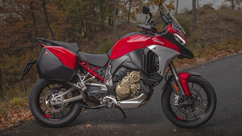 Ducati Multistrada V4, LE FOTO DELLA PROVA