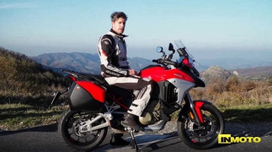 Prova Ducati Multistrada V4 VIDEO