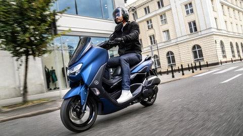 Yamaha, nuovo NMAX per la vita facile in città