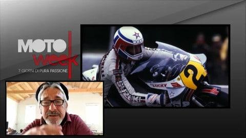 """Motoweek, Lucchinelli: """"Con l'elettronica, la moto non si muove più"""""""