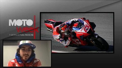 """Motoweek, Bagnaia: """"La moto per un viaggio? La Ducati Multistrada"""""""