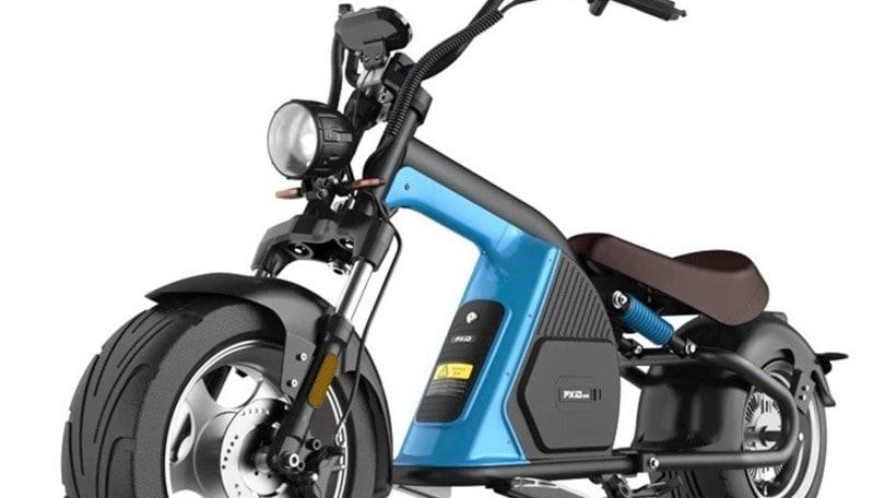EMoS Wyld, lo scooter elettrico in stile chopper
