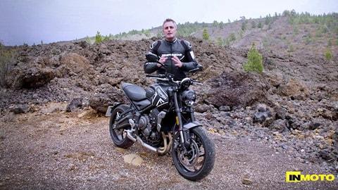 Video-prova: Triumph Trident 660, divertimento per tutti