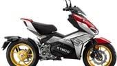 Kymco F9, lo scooter elettrico ha il cambio