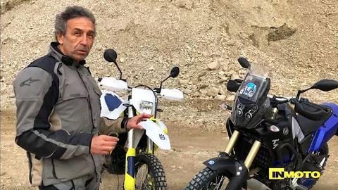 Video-confronto live: Yamaha Ténéré Vs Husqvarna 701 Enduro LR