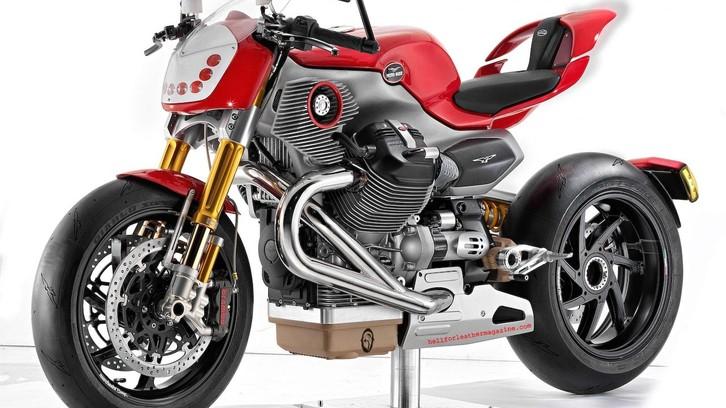 Moto Guzzi V12 Concept: un sogno infranto
