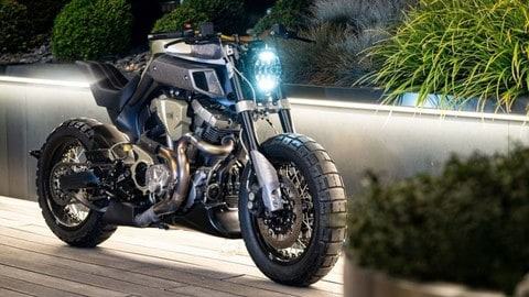Yamaha MT-01 custom