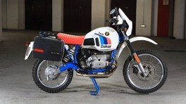 BMW R80 GS Paris Dakar, all'asta un raro esemplare del 1985 FOTO
