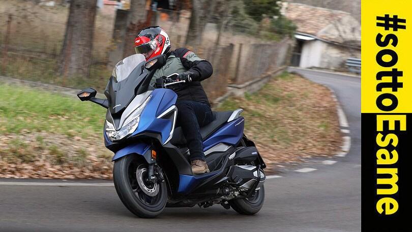 Prova Honda Forza 350 2021: i voti del #Sottoesame