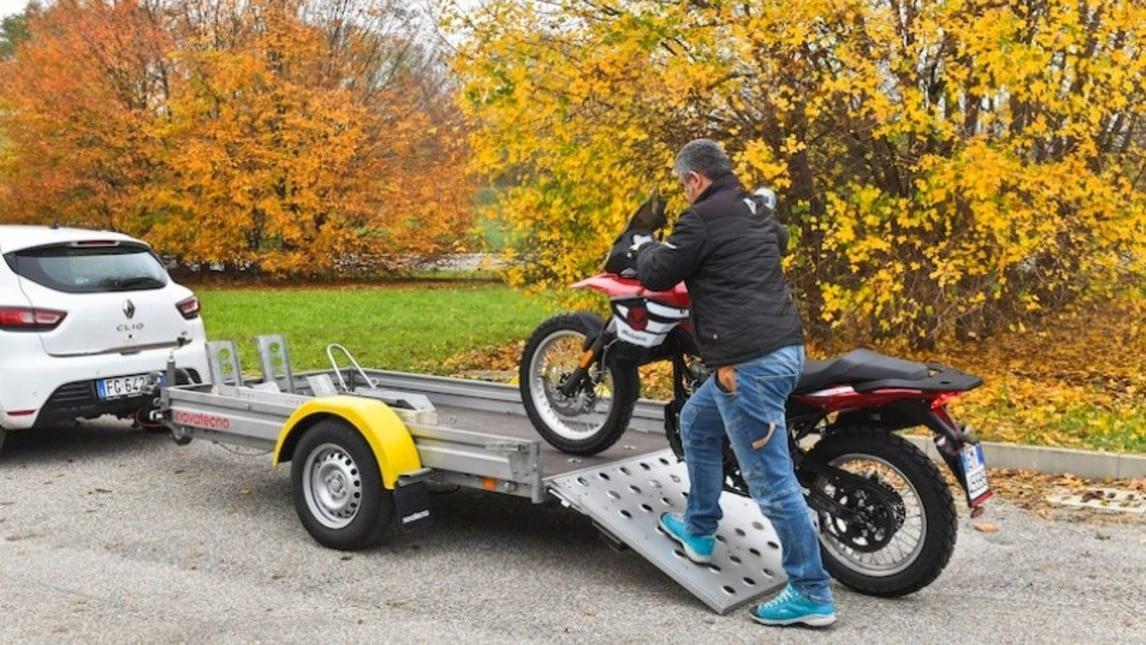 InMoto consiglia: trasportare la moto sul carrello