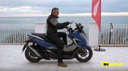 Video-prova Honda Forza 350: lo scooter pronto a tutto