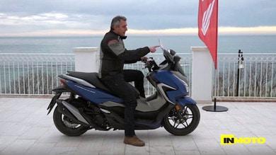 Prova Honda Forza 350: lo scooter pronto a tutto VIDEO