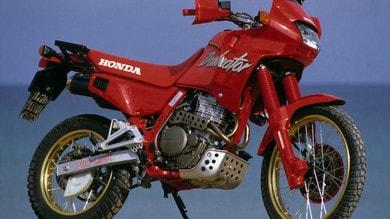Rewind, Honda NX 650 Dominator: la vita facile