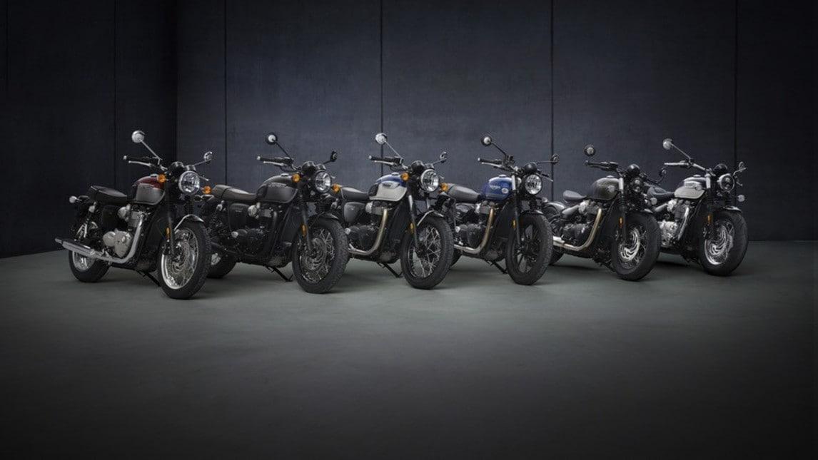 Triumph svela la rinnovata gamma classic 2021