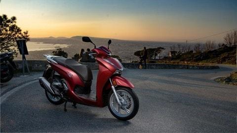Test Honda SH350i LE FOTO