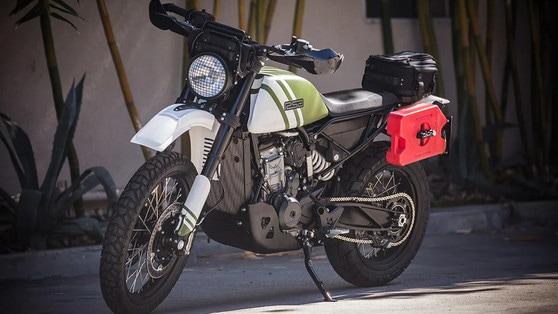 KTM 790 Adventure, per Roland Sands è una custom
