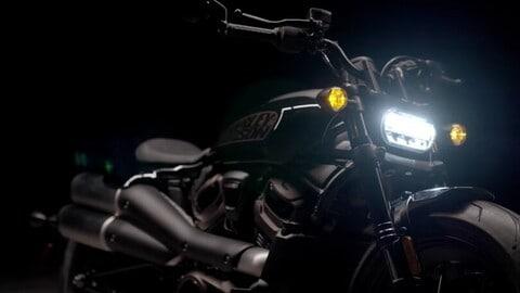Harley-Davidson Custom 1250: prime immagini