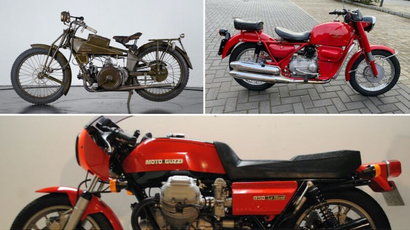Moto Guzzi, asta per 30 moto da leggenda: dalla Normale alla Le Mans