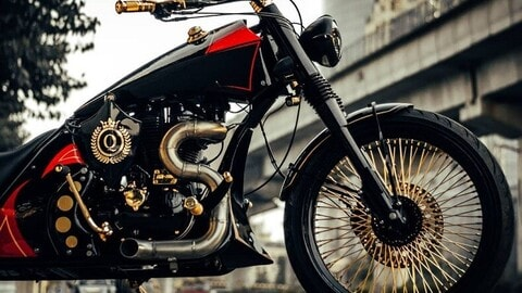 Royal Enfield 500 Queen by Neev Motorcycles