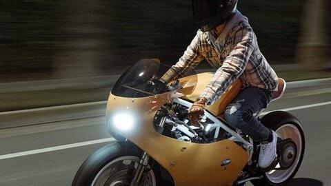Ducati 998, custom retrò by Upcycle Motor Garage