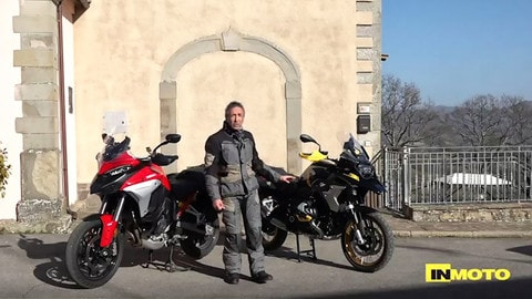 Video-Sfida: BMW R 1250 GS Vs Ducati Multistrada V4 S
