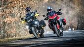 BMW R 1250 GS e Ducati Multistrada V4 S, scontro tra titani