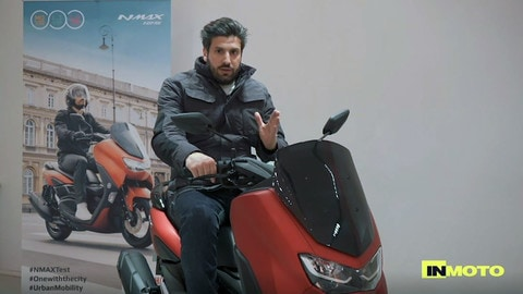 Video-prova: Yamaha NMax e D'elight 125